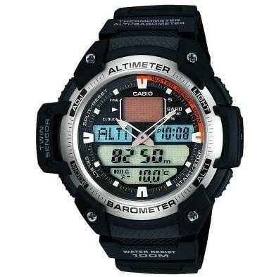 reloj casio sgw 400 altimetro barometro termometro 5 alarmas