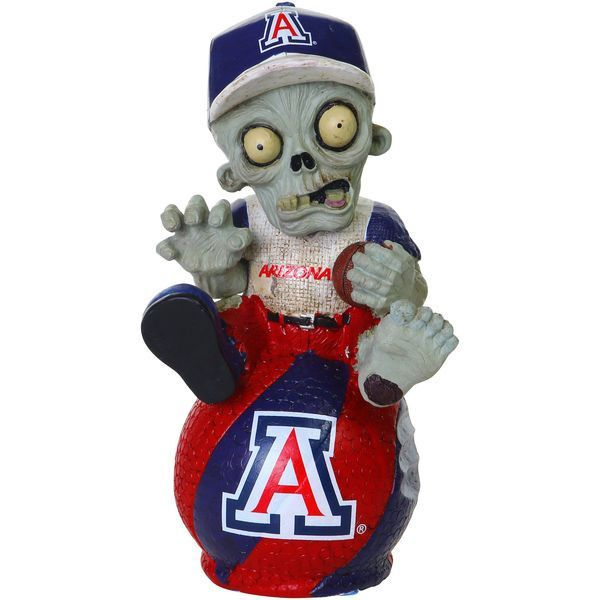 Arizona Wildcats Thematic Zombie Figurine Gnome