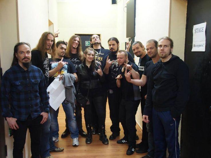 Fotografía extraída del Facebook Oficial de #Amorphis.