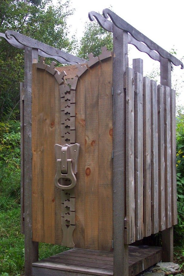 the loo, an outhouse created at Yestermorrow School in VT.