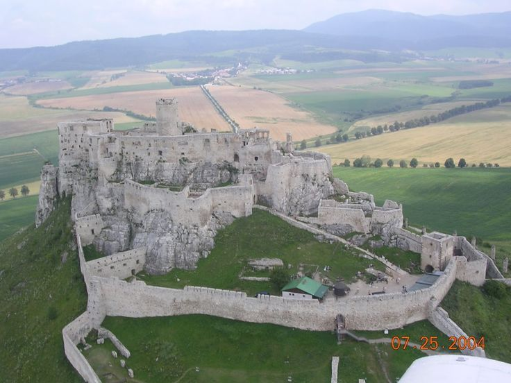 The ruins of Spiš Castle in eastern Slovakia form one of the largest castle sites in Central Europe. The castle is situated above the town of Spišské Podhradie and the village of Žehra, in the region known as Spiš.