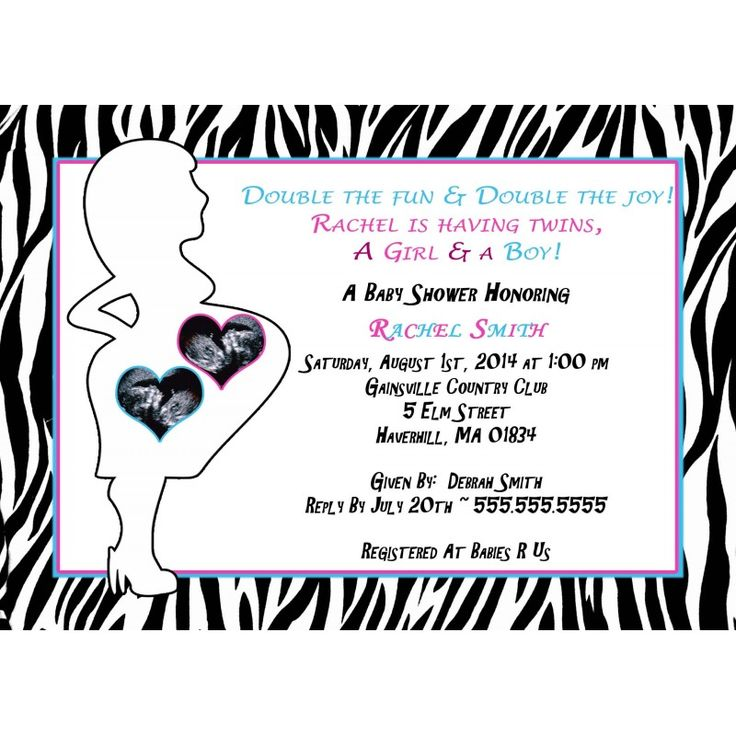 131 best Baby Shower Invitations images on Pinterest | Baby shower ...