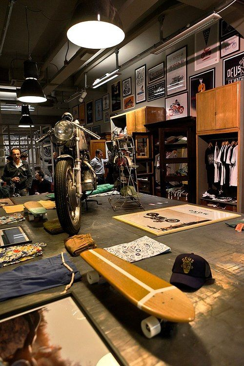 Deus Ex Machina's new Milan store