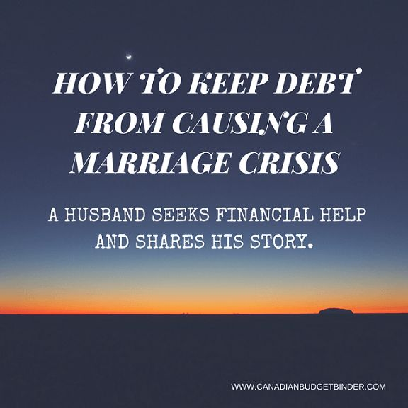 A CanadianBudgetBinder fan, husband and dad seeks financial help as the family is in debt and his marriage is in crisis. He shares his story in hopes of finding some help. Read his moving story and if you have any words of encouragement for him please leave him a message on the post. Any time I receive emails from fans like this it reminds me why I have been trying to spread the word about financial literacy the past 5 years. Let's help Derek over this marriage slump. Please LIKE and SHARE…
