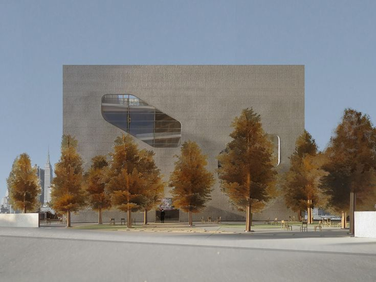 steven holl hunters point community library queens new york designboom