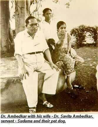 Bharat Ratna Dr Babasaheb Ambedkar with his wife