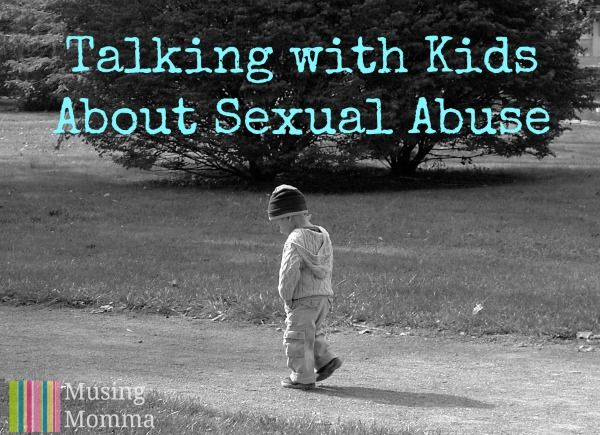 Have you started this conversation with your child yet? Talking With Young Kids About Sexual Abuse by Ellie at Musing Momma
