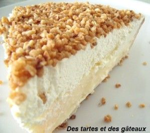 La tarte brésilienne de Belgique
