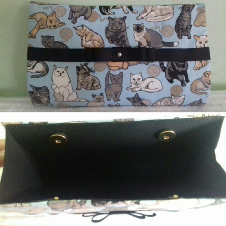 Bolsa carteira...os gatos da Bia