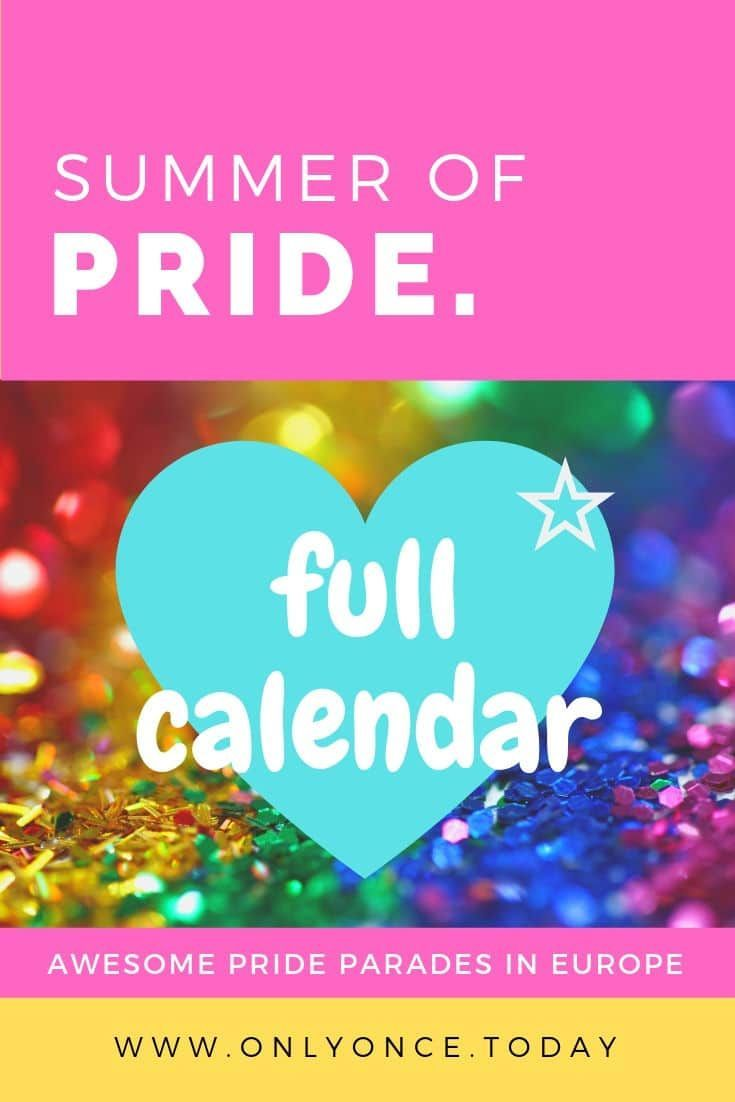 Summer Of Pride Lgbtq Pride Events In Europe Copenhagen Pride