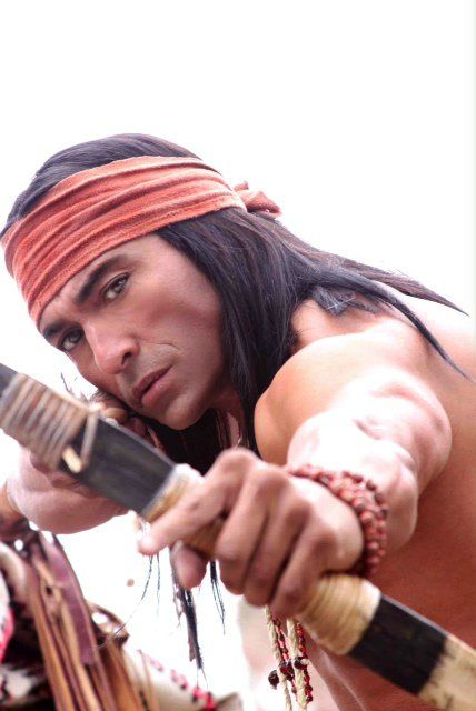 Jay Tavare - an American Indian film actor and a blogger for The Huffington Post.[1] He attended the University of Southern California, in which he dropped out to pursue acting. In 1999, Tavare won the Best Actor Award at the American Indian Film Festival for his role in Unbowed.