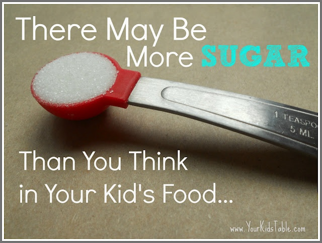 Find out how much sugar is in the food you give your kids and what you can do about it!