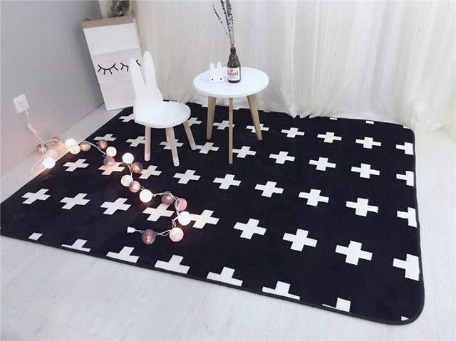 Modern Kids Non-Slip Rug Decorate 3x6