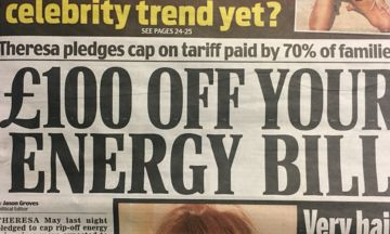 Daily Mail Covers Theresa May's Energy Cap Quite Differently To When Ed Miliband Proposed Policy | HuffPost UK