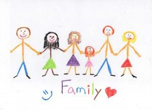 kids drawings of family - Google Search