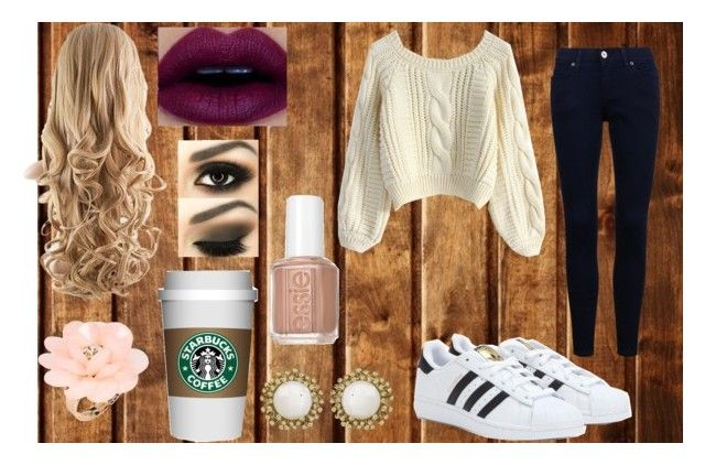 """""""Fall 2015"""" by lovestory-143 on Polyvore featuring mode, adidas, Essie, Chicwish, Dettagli et Kendra Scott"""