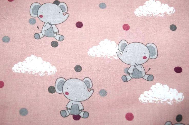 NB17/18 3215-012 Katoen olifantje oudroze
