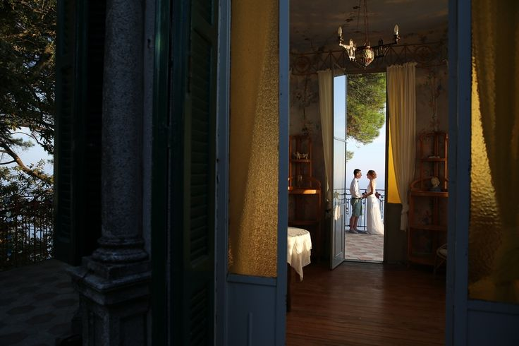 Fabulous wedding at Villa Bianca in Zoagli -Italian Riviera