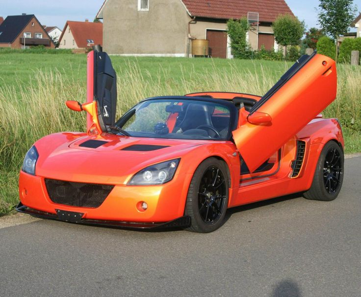 Opel Speedster Tuning Sports Car The Opel Speedster Tuning Is Designed As A  Roadster Sports Car