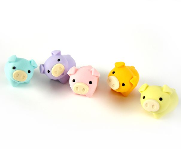 Cute pigs! Should make these