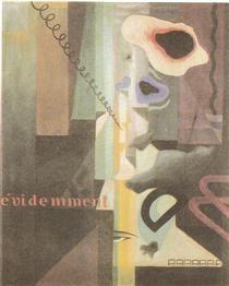 Composizione (Paesaggio) Dada n. 3 (o n. 2) - Julius Evola