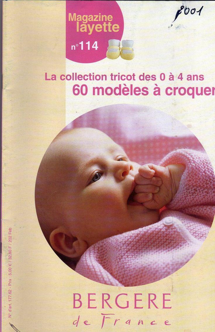 RECEITA TRICÔ FÁCIL   Magazine Layette   Coleção em Tricô de 0 a 4 anos   60 modelos em tricô   Revista De Tricô Para Bebês online Gráti...