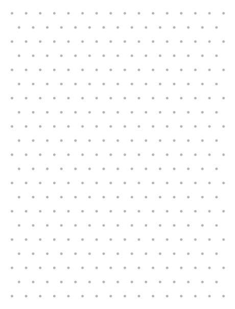 Grid paper isometric dots