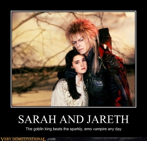 It's Labyrinth and  David Bowie. Heck yeah!!!
