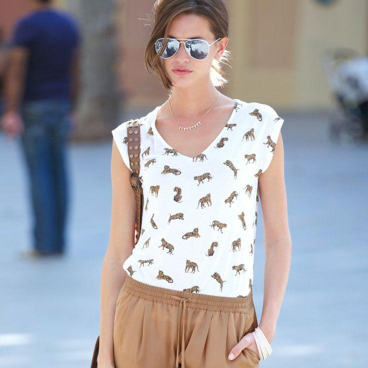 T-shirt imprimé femme 3 SUISSES COLLECTION