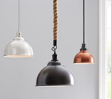 classic pendant lighting. I Think Want To Replace Our Kitchen Island Pendants With 4 Of These Small Size Copper The Rod Or Rope: PB Classic Pendant - Metal Bell Lighting N