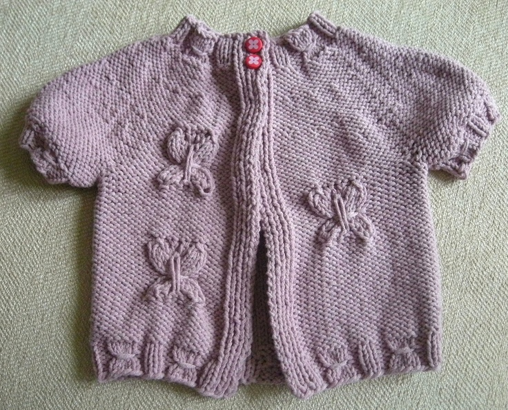 Ravelry: Farfalle Cardigan pattern by Estella Haines