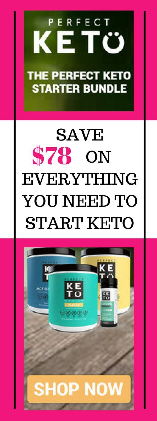 The Perfect Keto Starter Bundle