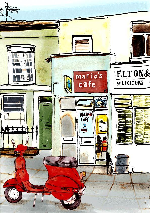 Josie Jo - Toot Toot at Mario's Cafe, Kentish Town, London NW5