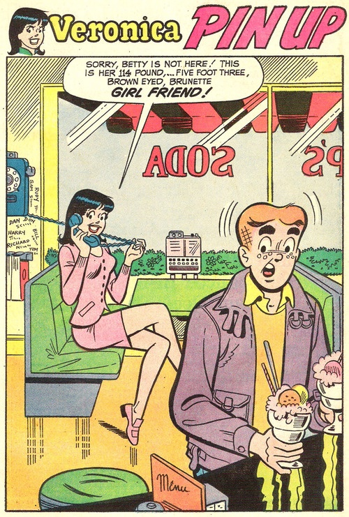 >always..always..always read Archie Betty Veronica comic books