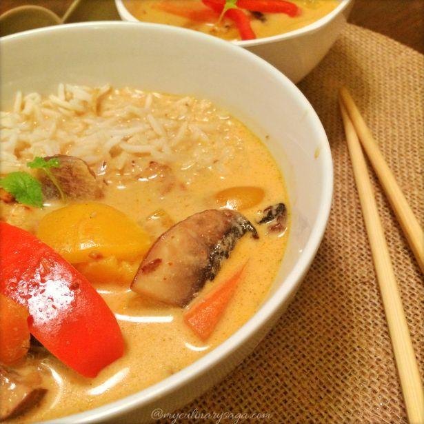 Veg Thai Red Curry