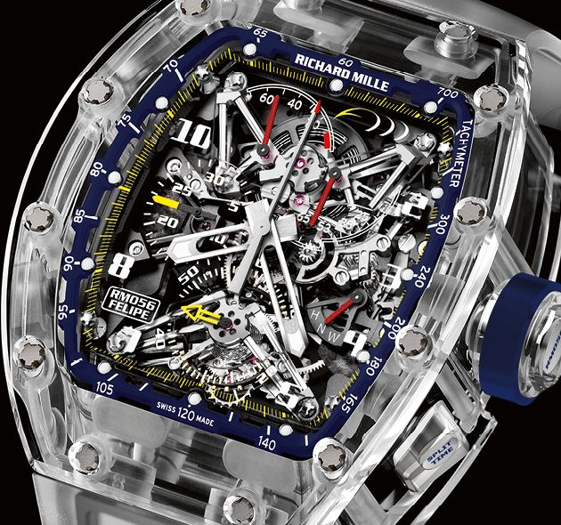 Richard Mille - RM 056 - Felipe Massa Special Edition - http://poshist.com/2015/08/richard-mille-rm-056-felipe-massa-special-edition/