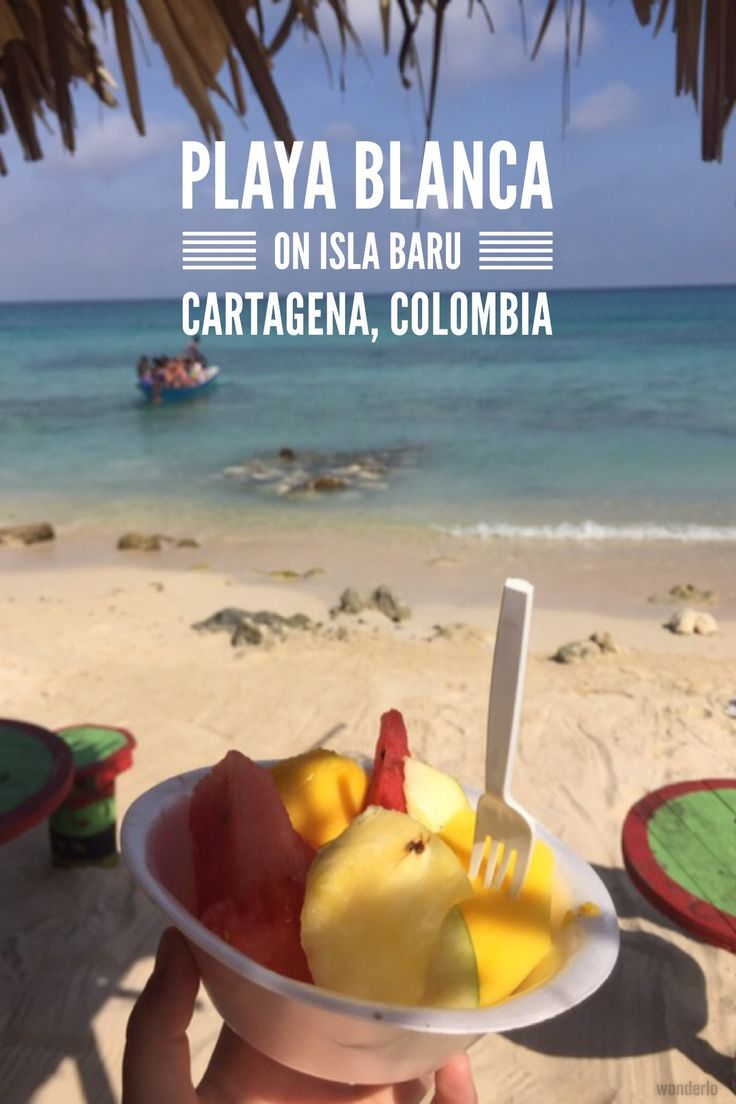 One of the highlights of Colombia is irrefutably the Carribean coast. Spend a couple days on Playa Blanca, located on Isla Baru right outside of Cartagena.