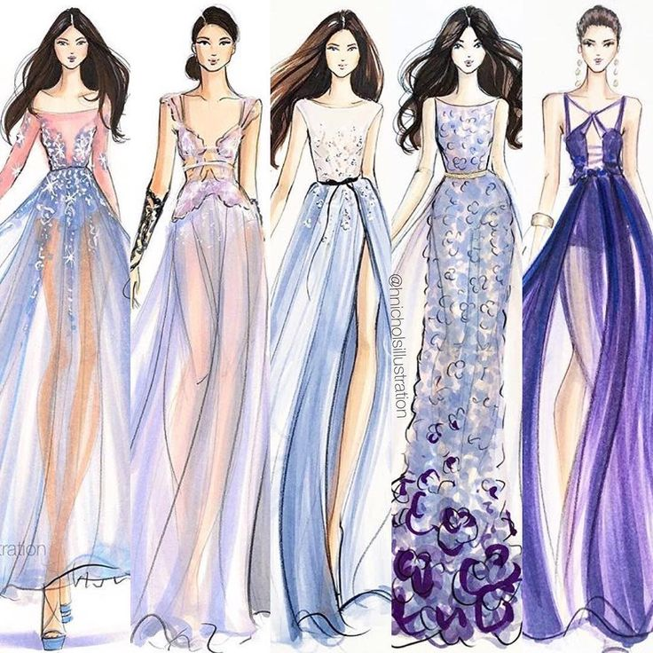 fashion lllustrator boston infohnicholsillustrationcom hnillustration shop more ms - Fashion Design Ideas