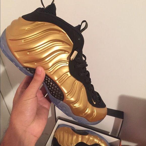 Gold foamposites DS Men's 8.5 DS Nike Shoes Athletic Shoes