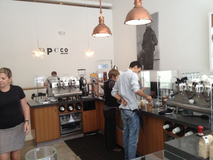 Primo Passo Coffee Co. in Santa Monica, CA
