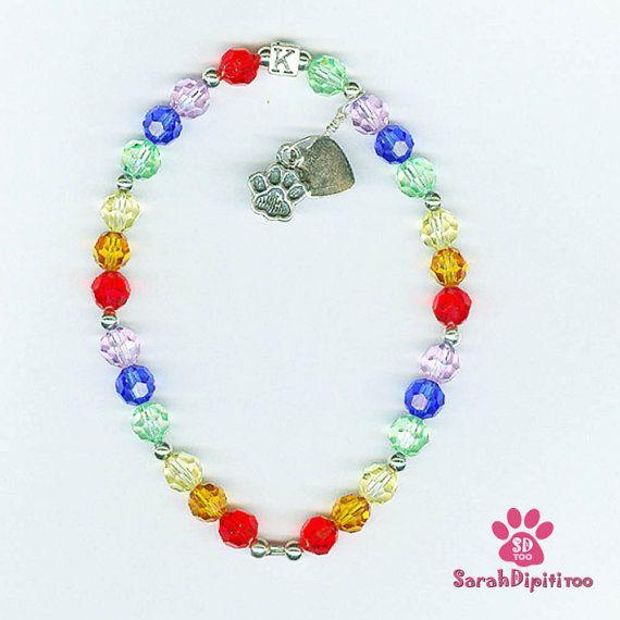 Rainbow Bridge Bracelet pet memorial bracelet by SarahDipitiToo