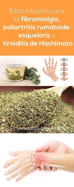 Esta infusión es un excelente remedio para la fibromialgia, poliartritis rumatoide, esclerosis y enfermedad de tiroide de Hashimoto.