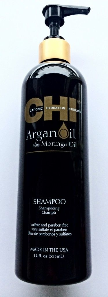 One of the best shampoos I've used. CHI Argan Oil Shampoo