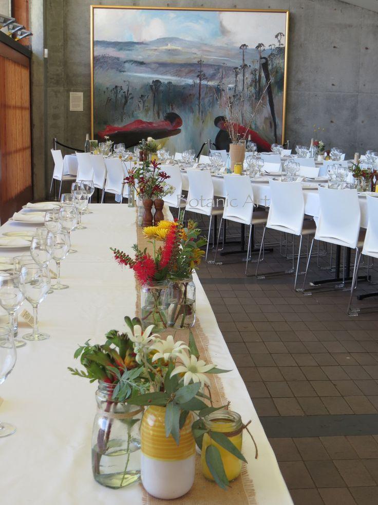 Reception Decorations, Flowers Emerge, Bottle Brush, Boyd S Painting, Brush Flannel, Decorations Shoalhaven, Flower Kangaroo