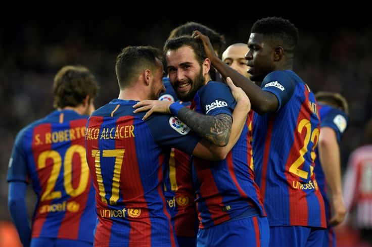 Barca close in as Real fixture is called off   Madrid (AFP)  Lionel Messi struck another trademark free-kick as Barcelona moved to within one point of La Liga leaders Real Madrid with a 3-0 win over Athletic Bilbao on Saturday.  Madrid have two games in hand the first of which was supposed to take place on Sunday at Celta Vigo.  However that match has been called off after wind damage to Celtas Balaidos stadium left the ground unsafe to hold the game La Liga confirmed after a security…