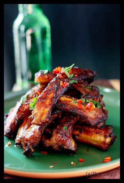 Kitchen notes: Savoury Nibble..: Asian Inspired Ribs