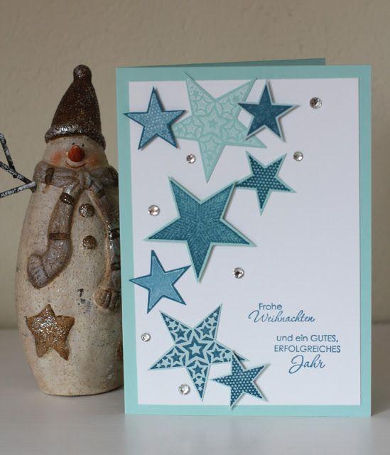 Stars x-mas card