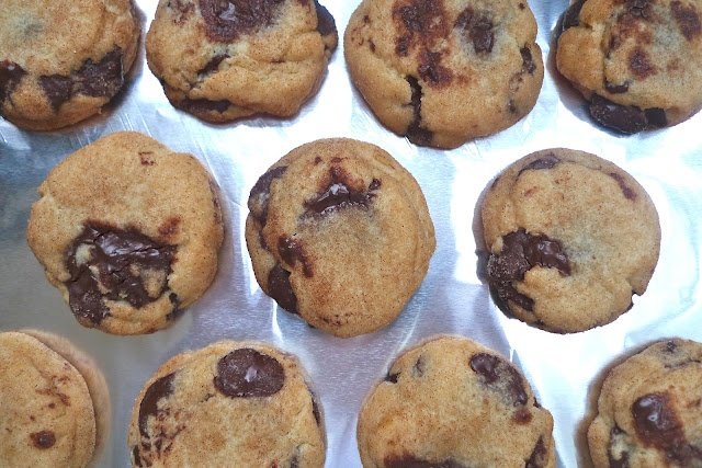 chocolate chip snickerdoodles... must try soon. Our 2 favorite cookies ...