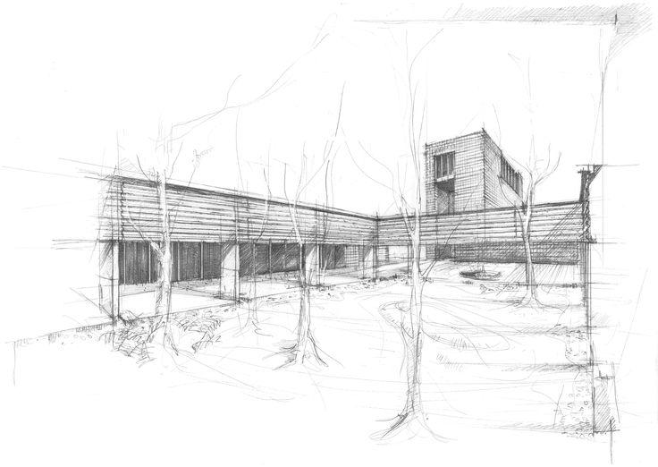 Imagen 7 de 15 de la galería de a2o architecten gana concurso para diseñar crematorio en Bélgica. Fotografía de a2o architecten