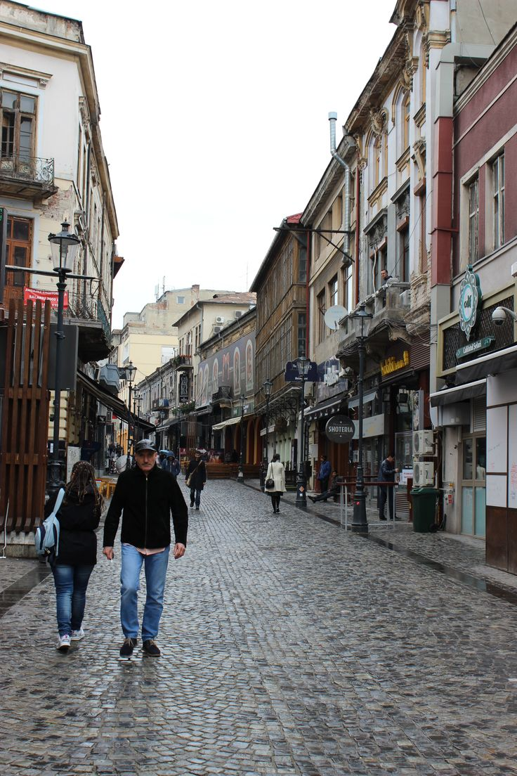 The Old Town, Bucharest